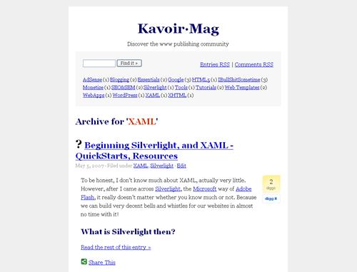 magmania screenshot
