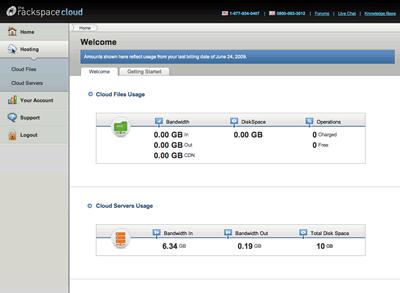 Rackspace cloud server logs windows