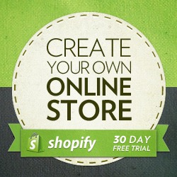 shopify - create your own online store