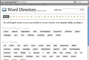word sales script
