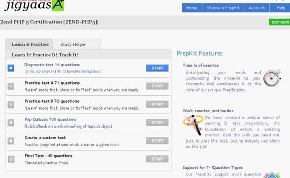 Zend PHP5 Exam PrepKit