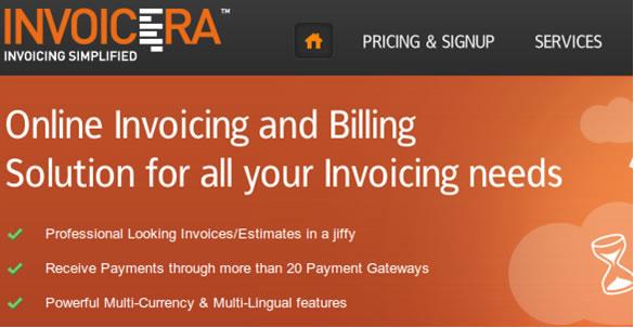 Invoicera - online invoicing